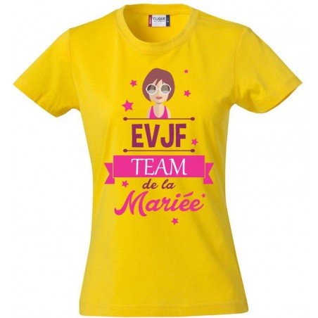 Tee-Shirt TEAM DE LA MARIEE