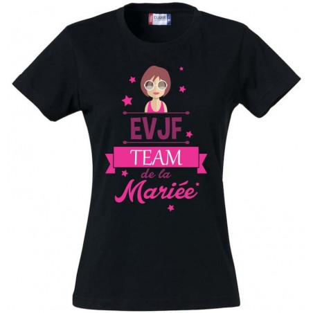 Tee-Shirt TEAM DE LA MARIEE