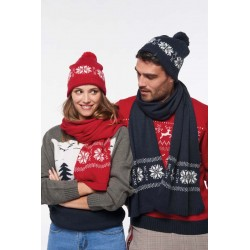 Bonnet tricoté Motif Etoile