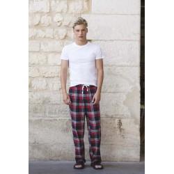 Pantalon Homme Motifs Tartan