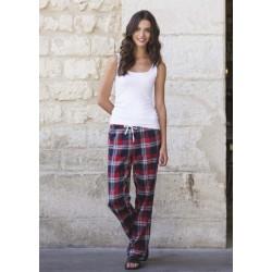 Pantalon Femme Motifs Tartan