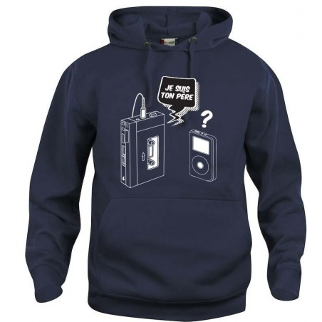Sweat-shirt Mixte Cassette