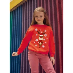 Sweat-shirt Enfant Renne