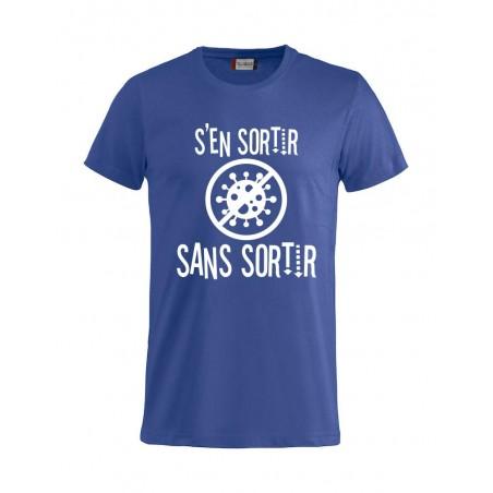 Tee-Shirt Mixte S'en Sortir Sans Sortir