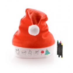 Bonnet de Noël à colorier RUPLER
