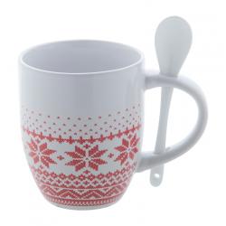 Mug de Noël avec Cuillère SORBUX