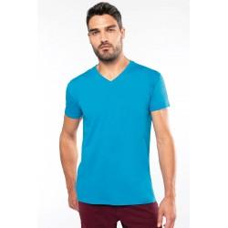 Tee-Shirt Col V Homme BIO à personnaliser