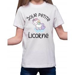 Tee-Shirt Jolie Petite Licorne