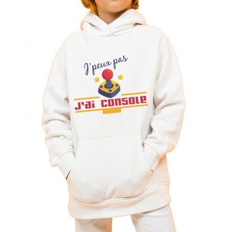 Sweat-shirt Enfant J'peux pas j'ai Console