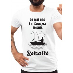 Tee-Shirt Je suis Retraité