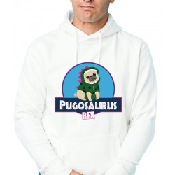 Sweat-shirt Unisexe Pugosaurus