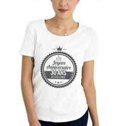 Tee-Shirt Femme ANNIVERSAIRE EXCELLENCE