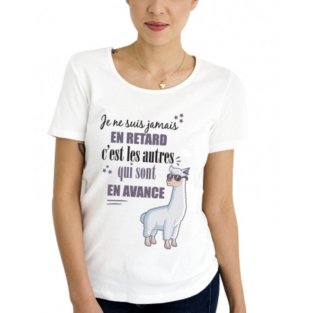 Tee-Shirt Jamais en Retard