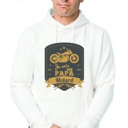 Sweat-shirt Papa Motard