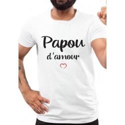 Tee-Shirt Papou d'Amour
