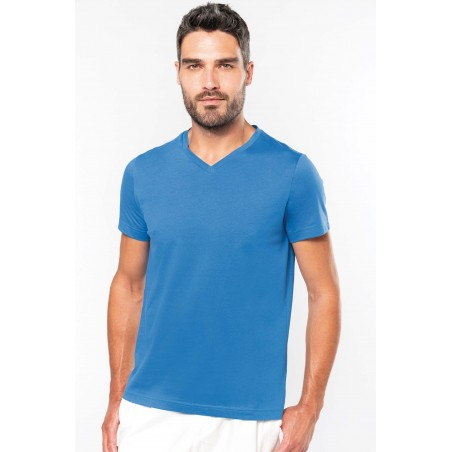 Tee-Shirt Col V Homme à personnaliser