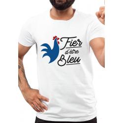 Tee-Shirt BIO Fier d'être Bleu
