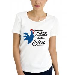 Tee-Shirt BIO Femme Fière...
