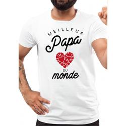 Tee-Shirt BIO Meilleur Papa du Monde