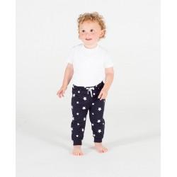 Pantalon Enfant Bleu à Etoiles